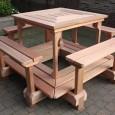 houten biertafel