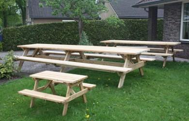 picknicktafels op maat
